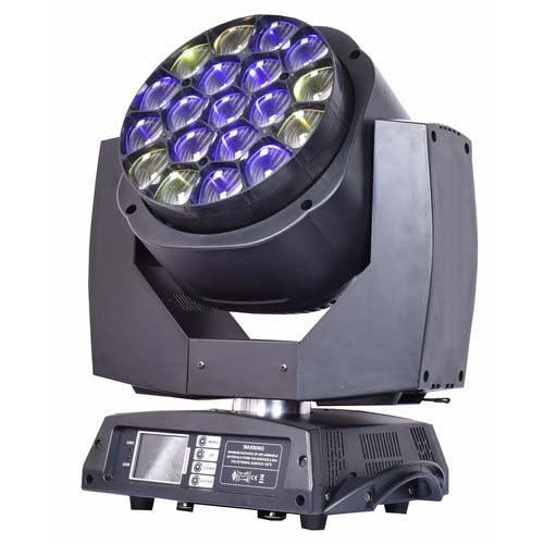 LED Spin Eye 19 x 15w Wash Light