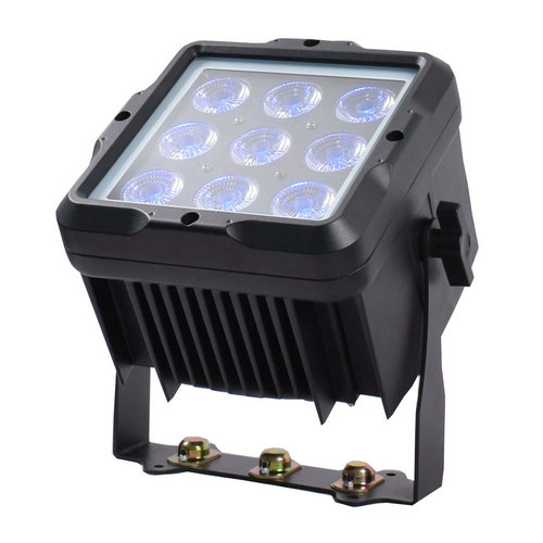 Battery LED Waterproof Par 9pcs